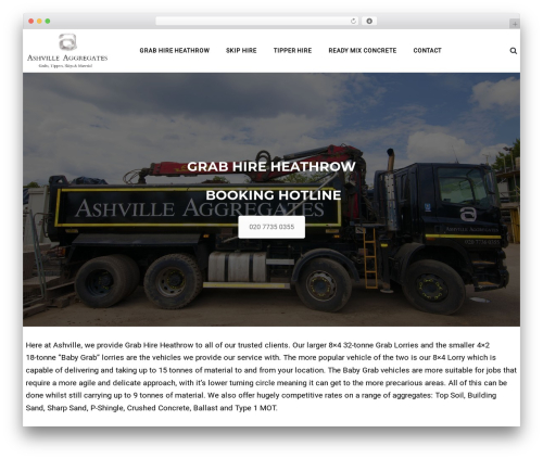 WordPress theme TheBuilt - grabhireheathrow.com
