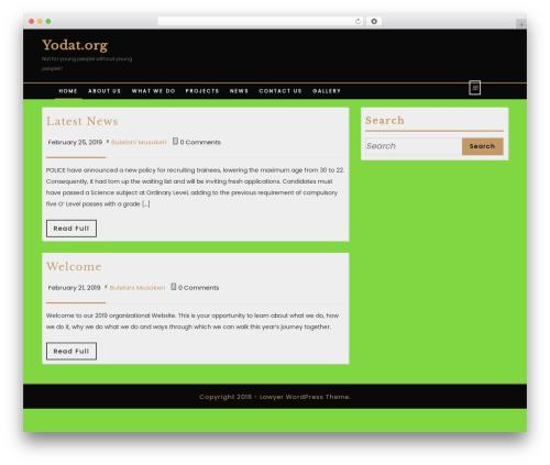 WordPress theme VW Lawyer Attorney - yodat.org