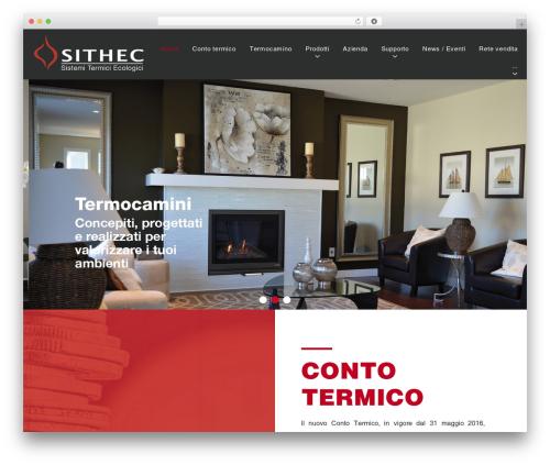 WordPress website template Caldera - sithec.it