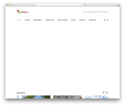 Free WordPress WP Header image slider and carousel plugin - golfsocial.ch