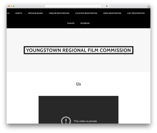 Argent free WordPress theme - filmyoungstown.com