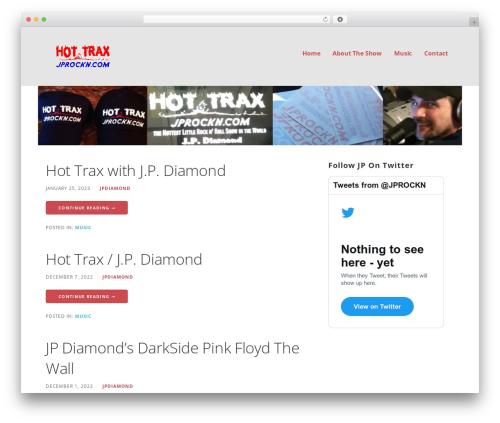 Ascension WordPress theme - jprockn.com