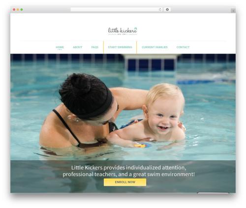 Best WordPress template Kids World - littlekickersco.com