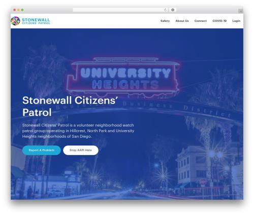 Best WordPress theme Business Pro Theme - stonewallcitizens.org