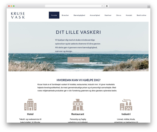 Book Club WordPress theme - kruse-vask.dk