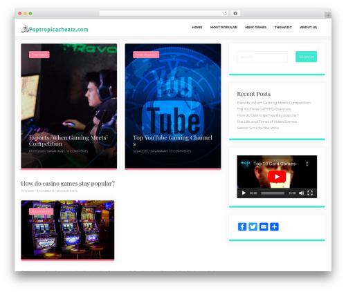 ClubBlog best free WordPress theme - poptropicacheatz.com