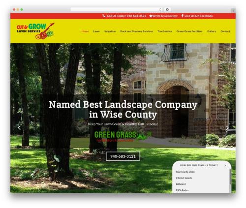 Divi WordPress website template - cutandgrow.com
