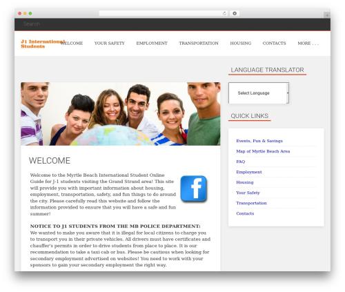 Everal best free WordPress theme - myrtlebeachj1students.com