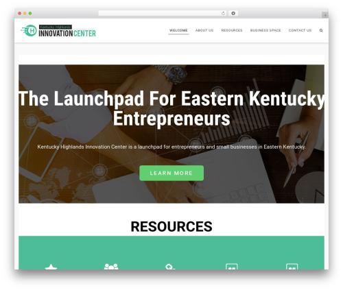 Flexia WordPress template free - khic-center.com