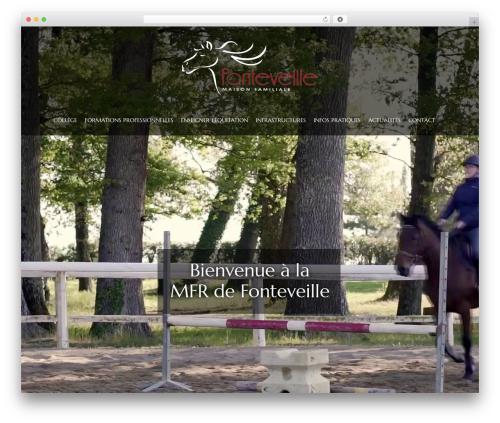 HorseClub WP template - mfr-fonteveille.com