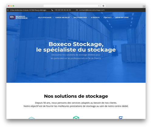 WordPress ninja-popups plugin - boxecostockage.com