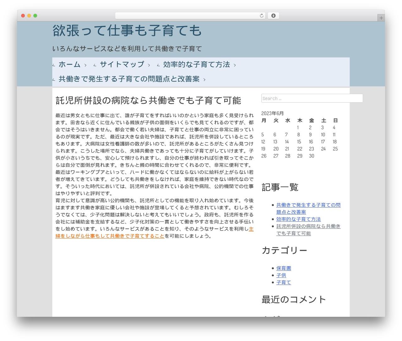 Metronome WordPress website template - genebox.net