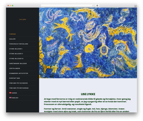 Movedo WordPress page template - liselykke.com