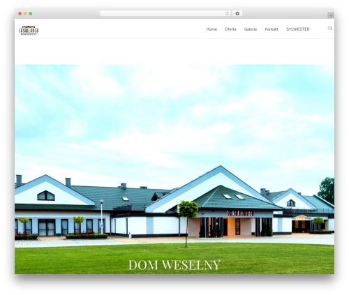 OneLove WordPress theme design - dwcasablanca.pl