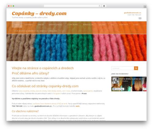 Panoramic template WordPress free - copanky-dredy.com