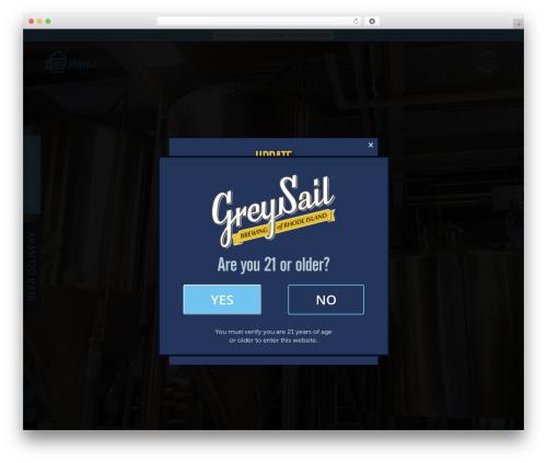 WordPress wordpress-store-locator plugin - greysailbrewing.com