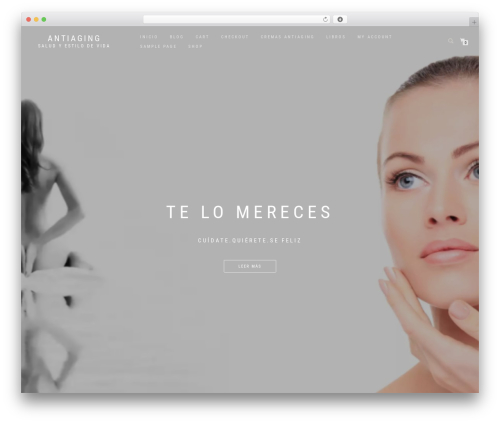 Shop Isle best WooCommerce theme - antienvejecimiento.biz
