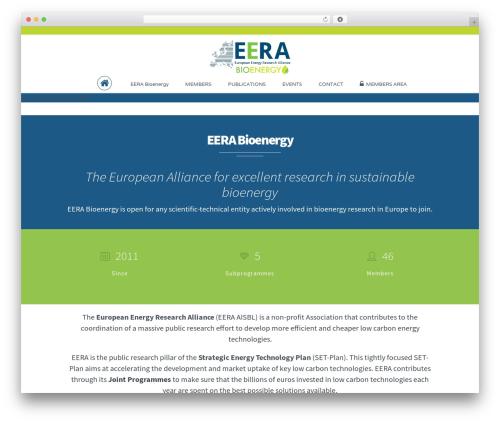 Theme WordPress Extent - eera-bioenergy.eu