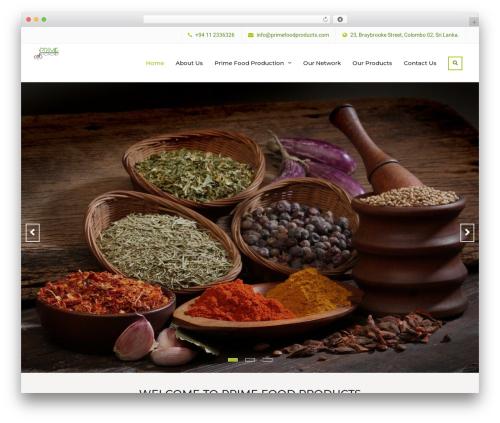 Theme WordPress Nature Bliss - primefoodproducts.com
