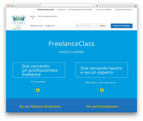 Theme WordPress WP Recruitment - freelanceclass.com