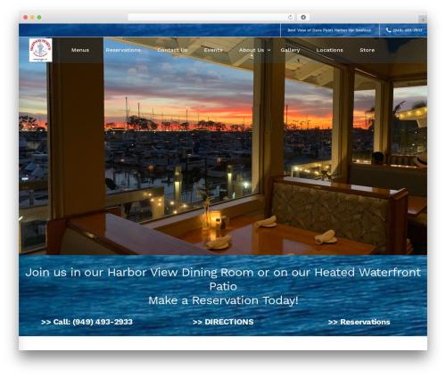 TM Moody best restaurant WordPress theme - harpoonhenrys.com