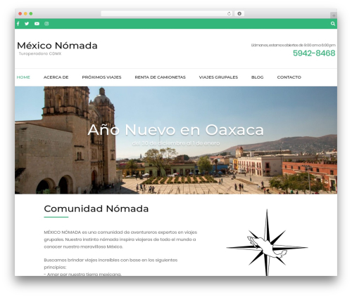 Free WordPress Travel Agency Companion plugin - mexiconomada.com