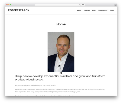 Ultimate Conversion WordPress page template - robertdarcyblog.com
