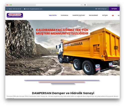 WordPress theme FO - dampersan.com