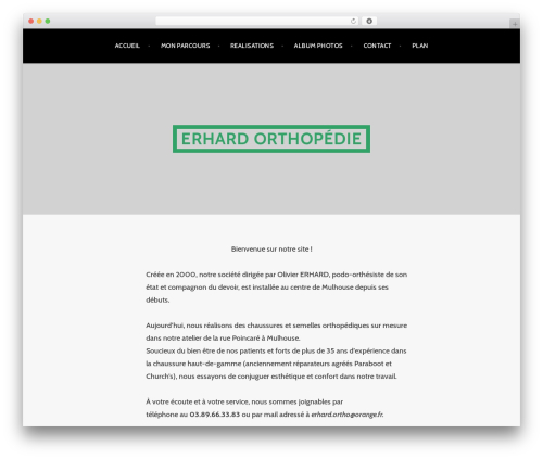 Argent WordPress theme download - erhard-orthopedie.fr