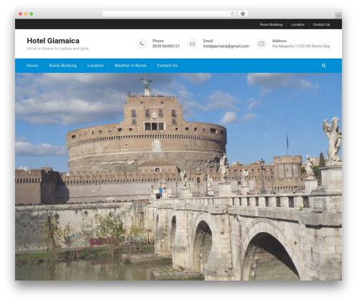 Best Business free WordPress theme - hotelgiamaica.it