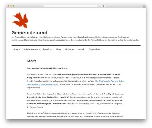 Best WordPress template Mercia - gemeindebund-online.de