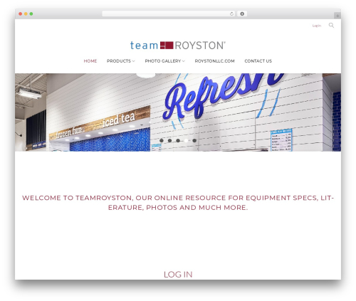 Contractor premium WordPress theme - teamroyston.com