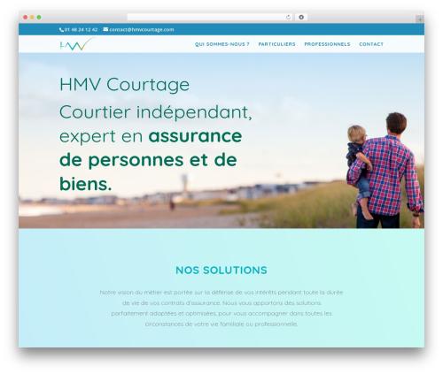 Divi best WordPress template - hmvcourtage.com