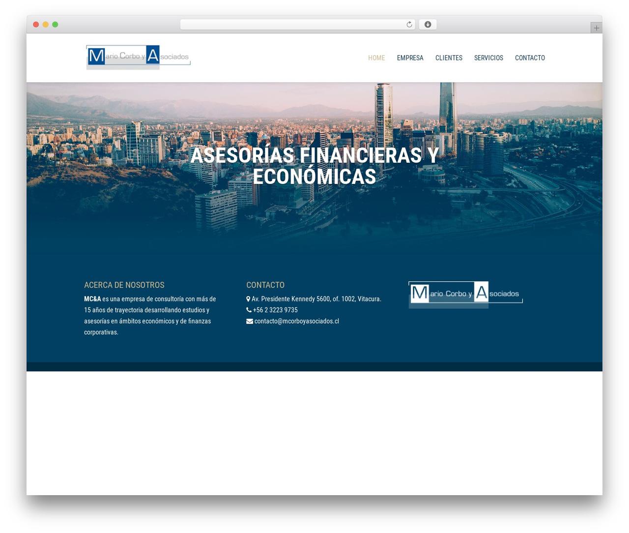 Divi best WordPress theme - mcorboyasociados.cl