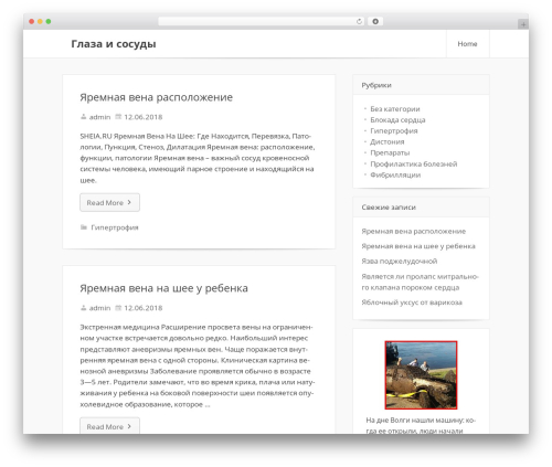 Friday WordPress theme - bermen.ru