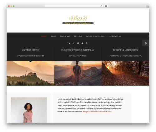 Hayes business WordPress theme - beautybodyandbusiness.com