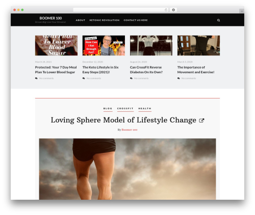 Heart and Style theme WordPress - boomer-100.com
