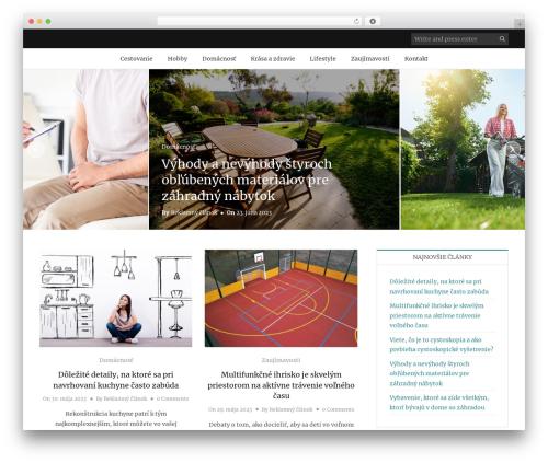 Holland best WordPress template - zabinudu.sk