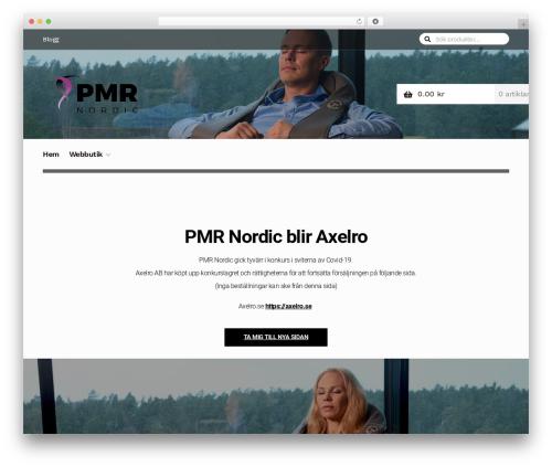 Homestore WordPress ecommerce theme - pmrnordic.se