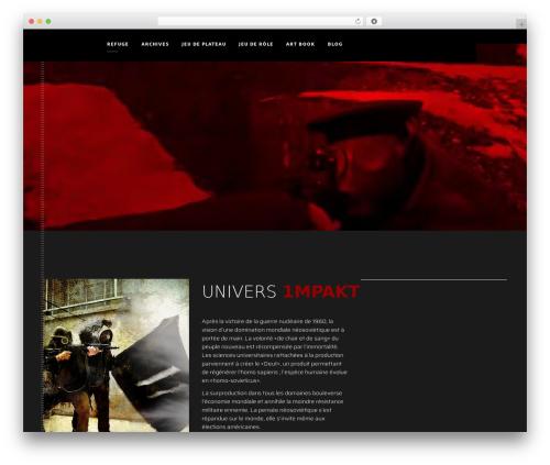 monolit template WordPress - 1mpakt.com