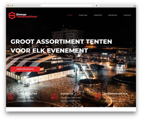 Optima theme WordPress - steenge.nl