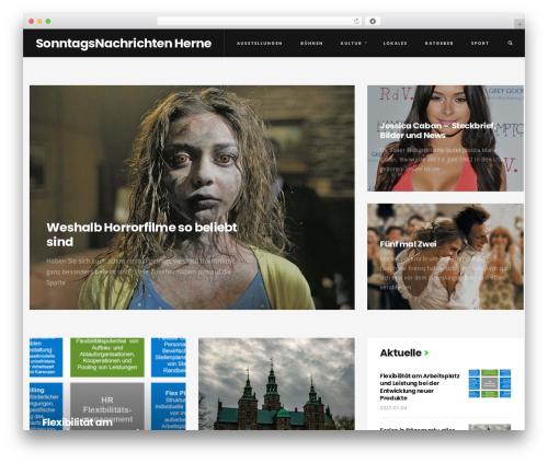 Rever WordPress page template - sn-herne.de