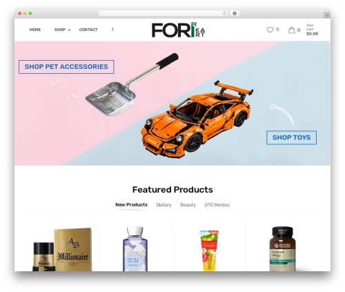 Techmarket WordPress theme - forikart.com