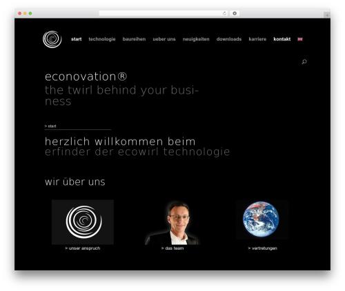Template WordPress Divi - econovation.de