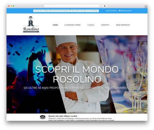 Template WordPress Divi - rosolino.it