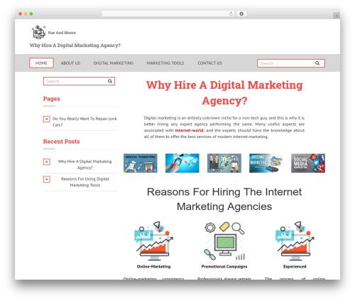 Theme WordPress Boxy - raeandmoore.com