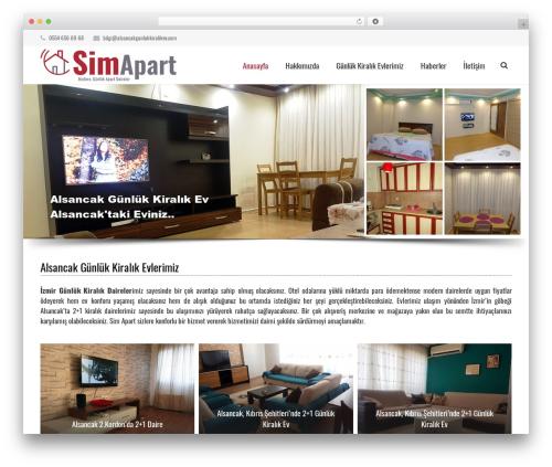 Theme WordPress Impreza (Share On Theme123.Net) - alsancakgunlukkiralikev.com