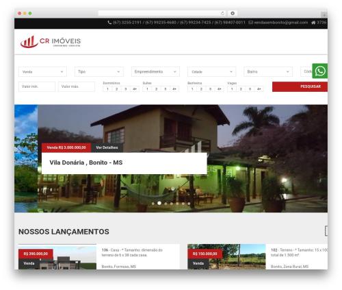 Vista Floripa template WordPress - vendasembonito.com.br