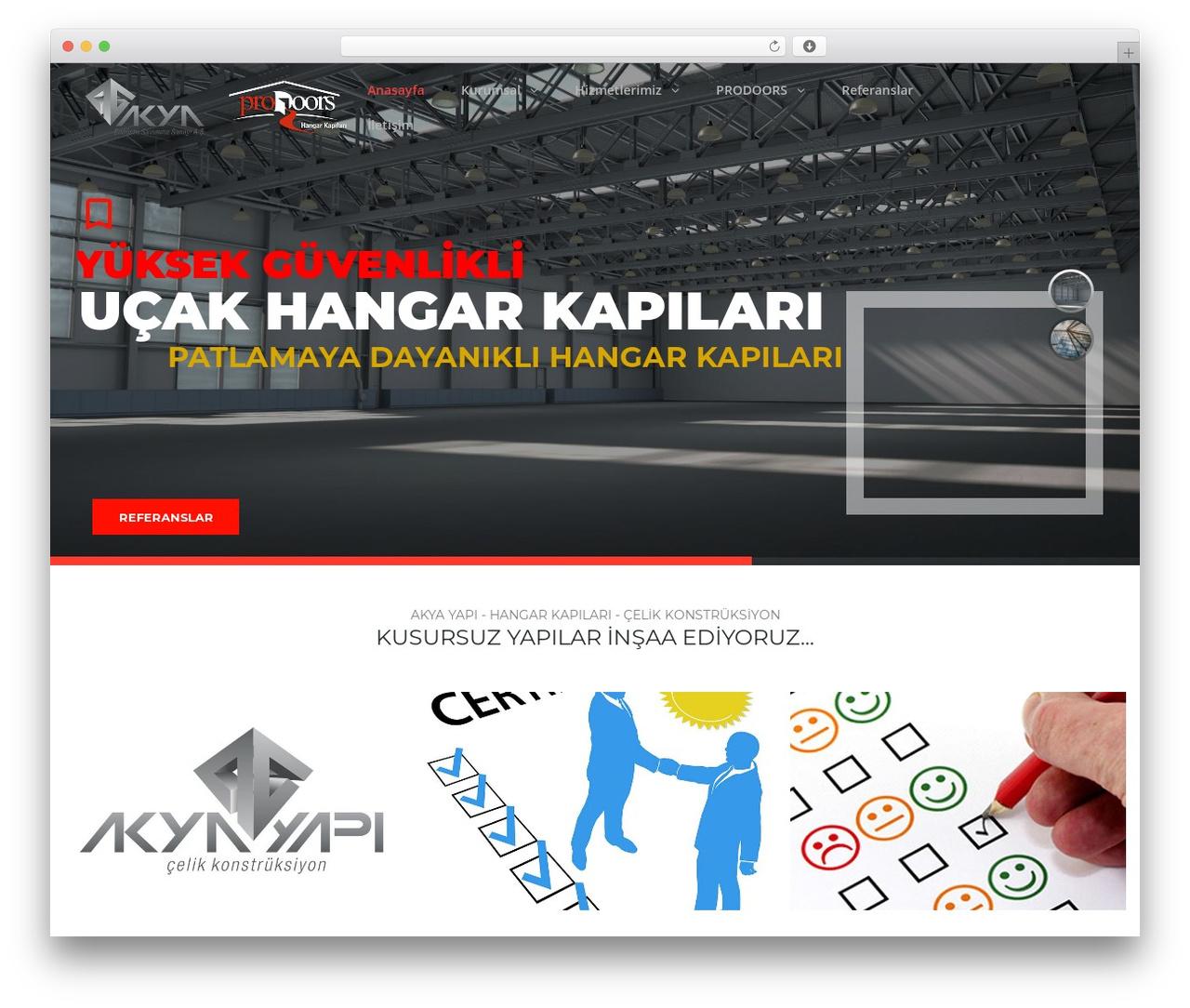 WP template TheBuilt - akyayapi.com