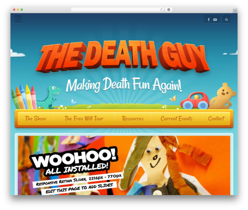 Best WordPress template Toddlers - thedeathguy.com